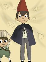 Over the garden wall by GraffityAngel