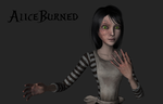 AliceBurned, wip 1 by tombraider4ever