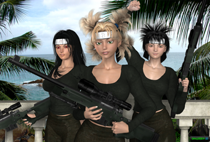 Kunoichi Snipers by Dangerboy3D
