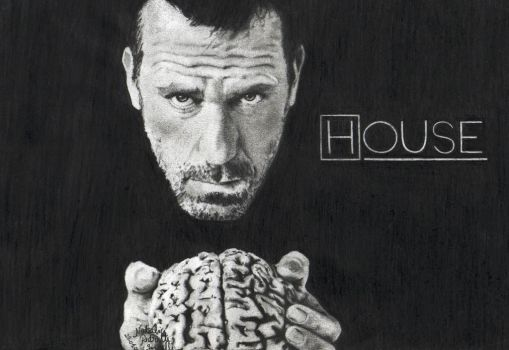 Doctor Gregory House by NatyPedretti