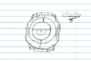 Wheatley is not amused by math by FableWing