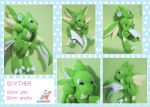 SCYTHER POKEMON PLUSHIE by chocoloverx3