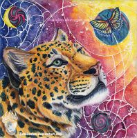 Leopard's Dream by Illuminaiae