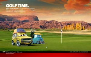 Cars | Golf Time by danyboz
