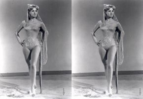 Shirley Jones Showgirl Costume 3d full by 3dpinup