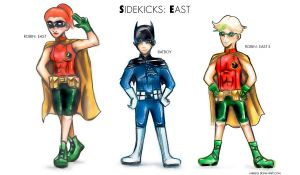 Sidekicks: East (Redesign) by Labbess