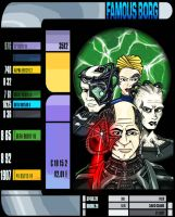 Famous Borg Colored by DrawnToPerfection