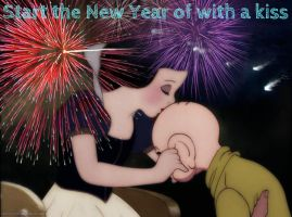 Start the New Year off with a kiss by SweetHea