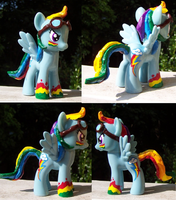 Rainbow Dash Custom Pony Mod by YFish