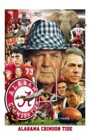 Alabama Football - Crimson Tide by Mark Spears by markman777