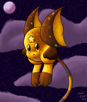 Golden Kirbichu by shadowkitsunekirby
