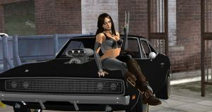 X-23 Dodge Charger Model by cablex452