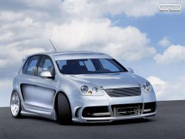 VW Golf V R32 by odyar