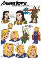 Avengers Dump 13 by LauraDoodles