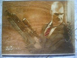 HitMan WoodPic by WoodBoxEdition