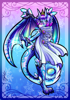 The Goddess of Winter by Blue-Fayt