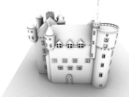3D Model - Fraser Castle by TheVampireBobby
