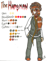 REFERENCE: Hangman's Color Pallete by InvaderIka