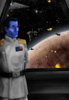 Grand Admiral Thrawn by josh-eeewwa