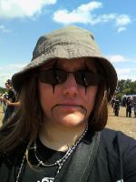 Me at Hellfest 2 by Kahlan-Lilith