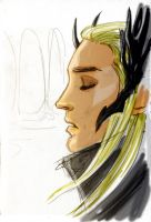 Thranduil by acidbetta
