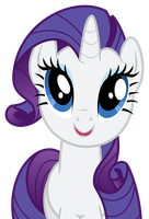 Rarity - [Gazes to the Horizon] by guille-x3