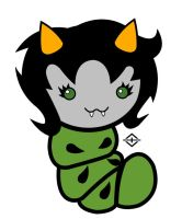 Homestuck Grub Project - Nepeta by TheFandomEdson