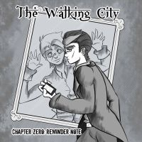 The Walking City: Reminder Note [Cover] by Divin-Almasy