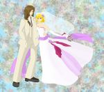 Felix and Sheba Married by Solejupiterwind