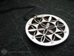 Flower of Life Pendant by jeanburgers