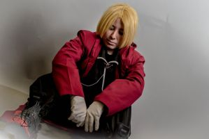Edward Elric sad by KeraValentine