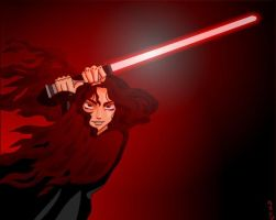 A female sith by claudiakat