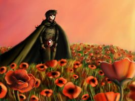 Field of Poppies by 247950