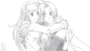 Ed x Winry by Dio773