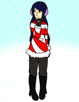 Merae's Winter Outfit by ShaeDurii