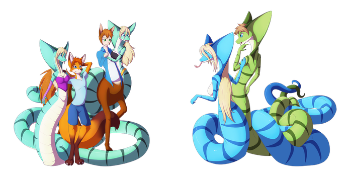 Commission: Date Night by SepiSnake