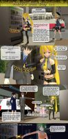 MMD Neru has a bad day ... by Trackdancer