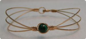 3 Strand Green Optic Bracelet by MajorTommy