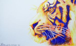 Tiger by WolfHowl10