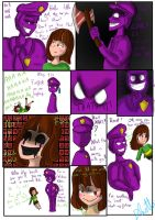 Chara And Purple Guy Funny Comic by Bluetta97