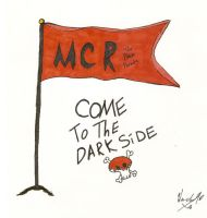 MCR Flag by 1ThEbLaCkPaRaDe1