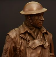 Australian Soldier Figurine by PLutonius