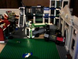 My cousins and I are bored we play wit LEGOS by devidoggy87
