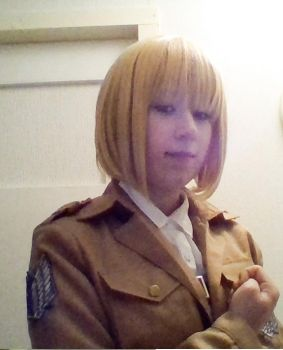 [snk] Armin Arlert reporting for duty! by BlackHearts97
