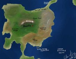 Meia Via Map - low quality by sonicstory