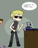 Wesker Can't Frappe by ririsama666