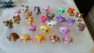 LPS Dog Collection by Vesperwolfy87