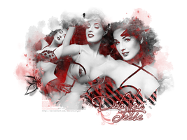Dita Von Teese wallpaper by AdrienneTyler