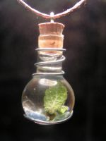 Magic Vial - Deep Blue 2 by Izile