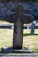 Stock Gravestone Cross by minifoot